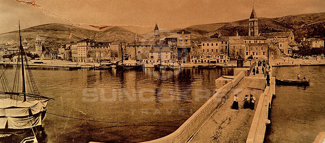 Trogir history - Bridge to Ciovo