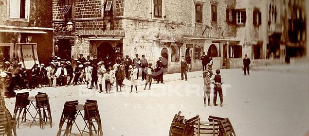 Trogir Square - History